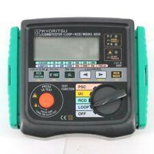 KYORITSU KEW 6050 Multifunction Tester Combi Tester Loop + RCD - BRAND NEW