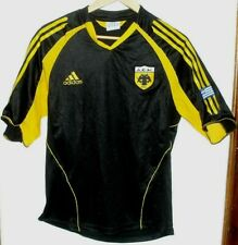 AEK ATHENS AUTHENTIC FOOTBALL SHIRT BY ADIDAS SMALL GREECE GREEK JERSEY