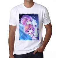 Manga hug, Manga Tshirt,Col Rond,Homme T-shirt,cadeau