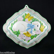 "Moule Ancien Agneau FRANKLIN MINT Porcelaine ""Le Cordon Bleu"" Paris/jelly mould"