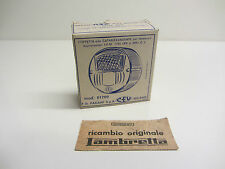 "Lambretta VEGA / Luna Line ""C.E.V"" Boxed Rear Light Lens Mint Original N.O.S"