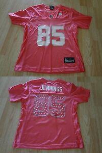 Women's Green Bay Packers Greg Jennings M NWOT Reebok (Pink) Jersey