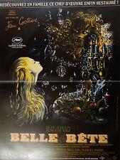 LA BELLE ET LA BETE  !  cocteau ; jean marais affiche cinema