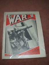 THE WAR ILLUSTRATED MAGAZINE  NOV 11TH 1939 VOL 1 No 9 AIRCRAFT PRODUCT & MORE -