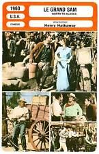 FICHE CINEMA : LE GRAND SAM - Wayne,Granger,Hathaway 1960 North To Alaska