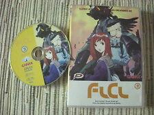 DVD ANIME FURI KURI FLCL LA SERIE VOLUMÉN 2 DE 3   EPISODIOS 3 Y 4 USADO