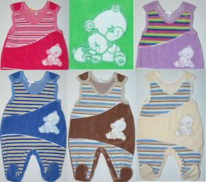 Kinder Strampler, Baby Strampler, Nicki - Stoff Erstlingsausstattung, 56, 62, 68
