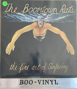 BOOMTOWN RATS ~THE FINE ART OF SURFACING RARE PORTUGUESE PRESS EX / EX