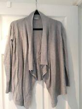 Wallis Grey Open Cardigan Size Small S 8-10