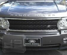 06-09 Range Rover HSE Chrome & Black Mesh Grille grill