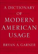 A Dictionary of Modern American Usage-ExLibrary