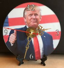 Brand New The United States 45th President Donald Trump CD Clock