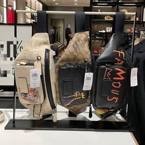 Coach X Jean-Michel Basquiat Track Belt Bag Choose Your Bag