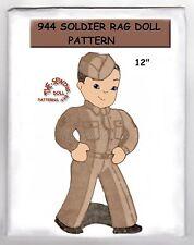 944 Soldier Rag - Cloth Doll & Wardrobe Pattern