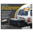 Navigator Weather Proof Storage Black Hitch Rack Cargo Bag 60x18x18 Rainproof