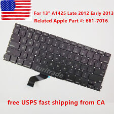 """NEW KEYBOARD for Apple MacBook Pro Retina 13"""" A1425 Late 2012 Early 2013 US"""