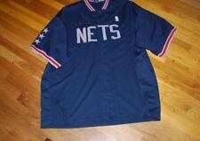 New Jersey Nets Men's 4XL Nike Warm Up Jacket