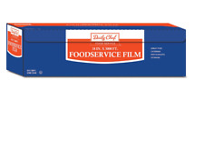 Bakers & Chef Food Service Plastic Saran Storage Film Wrap - 18 X 3000 feet