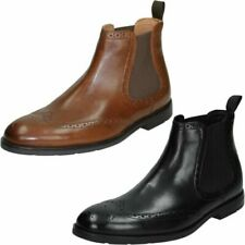 Mens Clarks Formal Ankle Boots 'Ronnie Top'