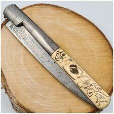 Grand couteau VENDETTA VÉRITABLE EDOUARD 716-plaquettes noble-knife-200mm plié