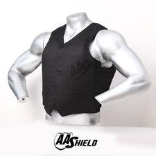 AA Shield Bullet Proof VIP Suit Vest UHMWPE Core Body Armor Vest Lvl IIIA Black