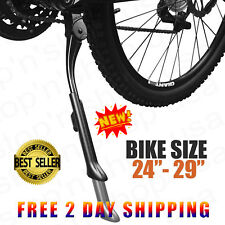 "24"" to 29"" Mountain Bike Kickstand Bicycle Adjustable Aluminium Bikes Kick Stand"