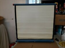 Vintage Radiant TOPPER Projection Projector Screen 22X22 TABLETOP portable