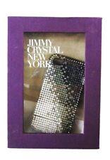 JIMMY CRYSTAL Grey  Rhinestones iPhone 4& 4S CASE Msrp $175.00