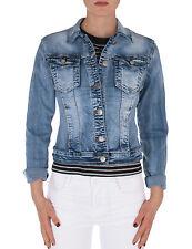 Damen Jeans Jacke Jeansjacke Denim vintage used Jacket talliert blau Neu