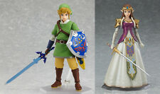 The Legend of Zelda Skyward Sword Link & Zelda Twilight Princess ver. Figma