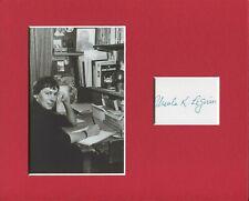 Ursula K. Le Guin Earthsea Sci-Fi Author Rare Signed Autograph Photo Display