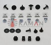 1 Set Unterfahrschutz Unterboden Einbausatz Repair Kit Clips AUDI für A4 A6 A8