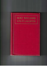 Bert Williams Son of Laughter 1st Ed HC w/o DJ 1923 RARE Festschrift