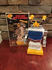 1970's Battery Operated Space Robot Mint In Box.  Scarce Soma Japan