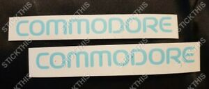 Holden VR VS SS S - COMMODORE Body Guard Mould Moulding Trim Paint Masks x2