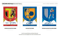 2018-19 PANINI CROWN ROYALE BASKETBALL RANDOM PLAYER 2 HOBBY BOX BREAK