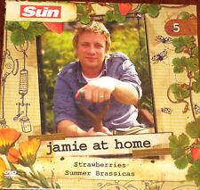 Jamie At Home - No 5 - Strawberries & Summer Brassicas (DVD), Jamie Oliver