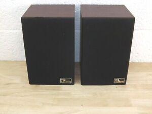 Pair of TDL Electronics Near Field Monitor Bookshelf Speakers.  (Hospiscare)