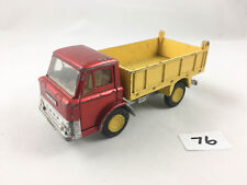 DINKY TOYS # 438 FORD D800 TIPPER DUMP TRUCK LORRY DIECAST 1970 YELLOW HUBS