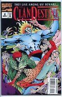 Clandestine 1994 series # 2 near mint comic book