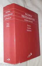 NUOVO TESTAMENTO GRECO LATINO ITALIANOTesto greco di Nestle Aland Beretta di e