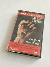 Alice Cooper Freedom Cassette Single NEW FACTORY SEALED MINT RARE!