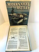 MODERN NAVAL BATTLES BOARD-GAME COMPLETE  3W 1989 WAR GAME