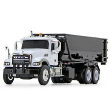 HO 1:87 First Gear MACK GRANITE w/TUB-STYLE ROLL-OFF Container White & Black NIB