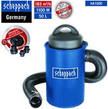 Scheppach Absauganlage HA1000 inkl.Filterpatrone Adapterset 4 Papierfilter