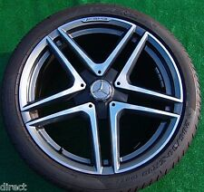 Genuine OEM Factory Mercedes-Benz AMG E63S Twin Spoke 19 WHEELS TIRES E63 CLS63