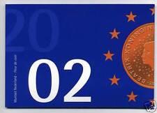 PAYS-BAS COFFRET OFFICIEL BU 2002 8 PIECES REINE BEATRIX !!!!