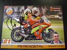 Orange Racing Yamaha YZF-R6 #81 Peter Kostal (CZE) IRRC signed