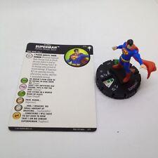 Heroclix DC Elseworlds set Superman #015 Uncommon figure w/card!