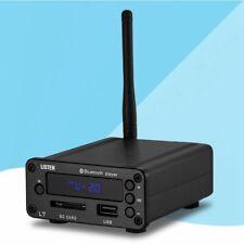 5V HiFi Bluetooth Receiver DAC Stereo Audio Preamp USB Music Player SD FM Radio